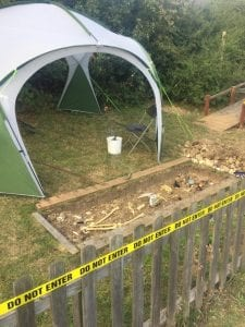 FPA archaeological dig