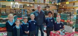 Children from Roydon Primary help Harlow food bank 14