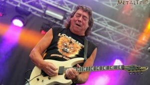 Spotlight on Stratton: former Iron Maiden guitarist celebrates more than half a century living the dream 9