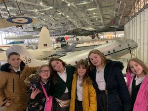 Harlow school children discover life on the Home Front at Duxford war museum 5