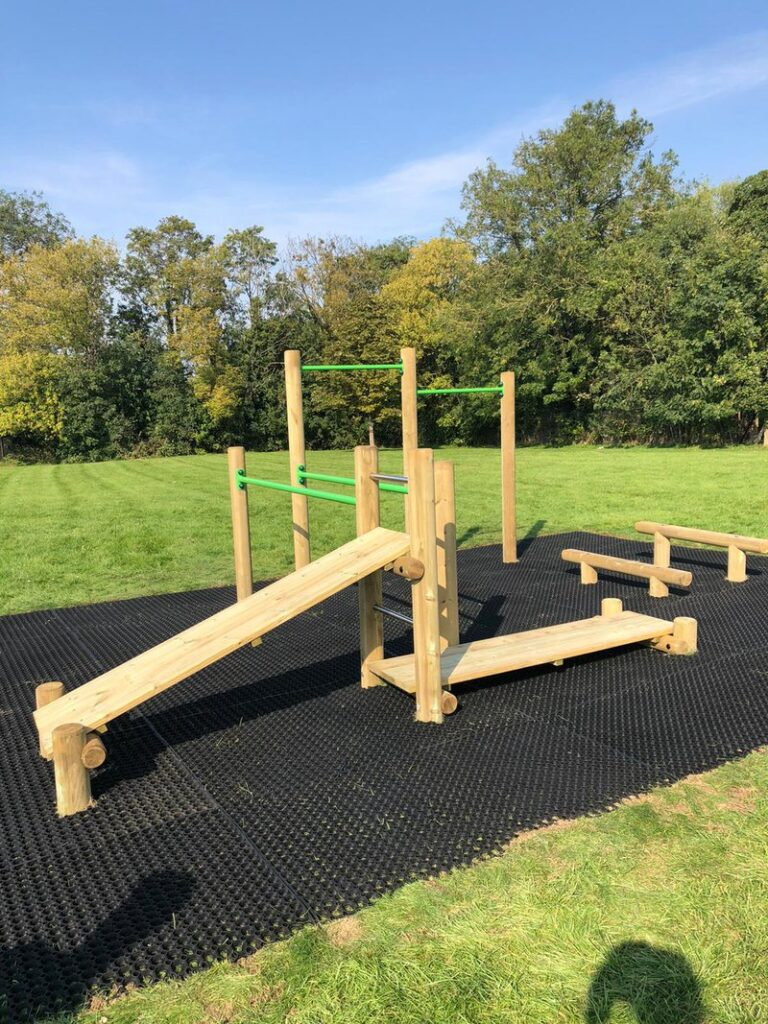 CS outdoor gym